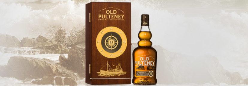 Limitovaná edice 35-leté single malt Old Pulteney